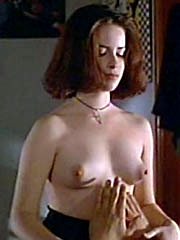 Falling star Holly Marie Combs naked..