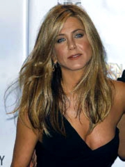 Jennifer Aniston hot and leggy in long..