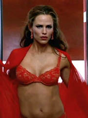Beauty celebrity Jennifer Garner naked..