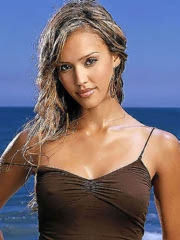 Jessica Alba flashes bare exasperation..