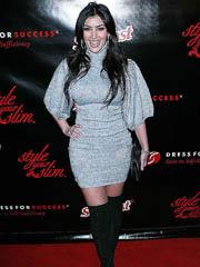 Kim Kardashian hot big booty in a tight..