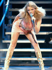 Beauty celebrity Kylie Minogue sex..