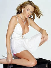 Beauty celebrity Kylie Minogue sex..