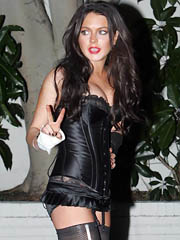 Beauty celebrity Lindsay Lohan sexual..