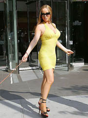 Mariah Carey big boobs in hot tight dress