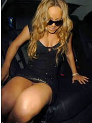 Beauty celebrity Mariah Carey sex photos.