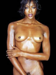 Beauty celebrity Naomi Campbell sex photos.