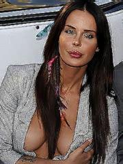 Beauty celebrity Nina Moric carnal..