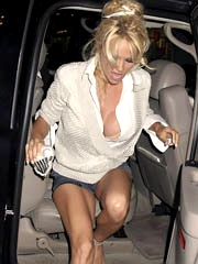 Beauty celebrity Pamela Anderson naked..