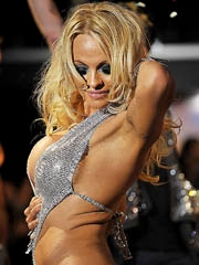 Pamela Anderson hot milf body in little..