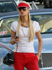 Luminary Paris Hilton coitus photos.