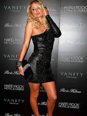 Paris Hilton looks very hot in tight..