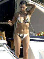 Penelope Cruz nipple slip in a bikini