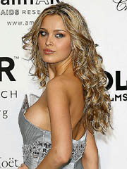 Petra Nemcova oops upskirts with the..