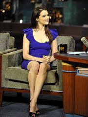 Rachel Weisz hot body in tight blue..