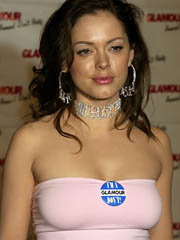 Celebrity Rose Mcgowan naked pics, oops!