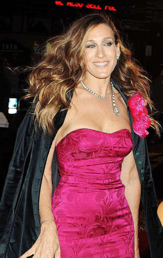 Sarah jessica parker boob slip this remarkable