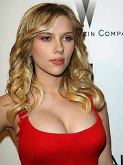 Scarlett Johansson hot in police uniform