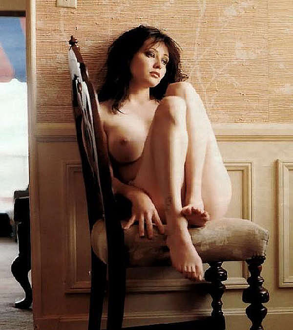 shannen doherty see through