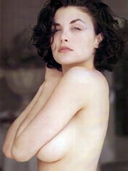 Beauty celebrity Sherilyn Fenn naked..