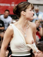 Heavenly body Sophie Marceau unadorned..