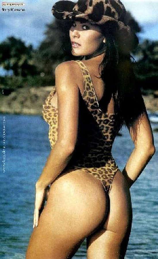 Stacy Kamano antique Baywatch babe poses in bikini: celebsexshots.net/famous/stacy-kamano-antique-baywatch-babe-poses...