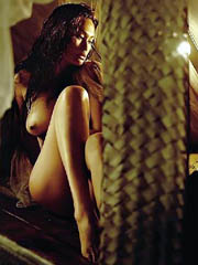 Tia Carrere fully naked and hot..