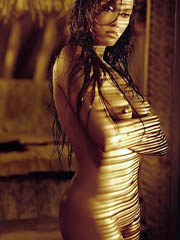 Beauty celebrity Tia Carrere nude..