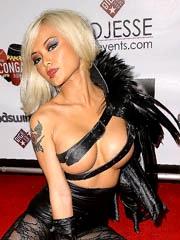 Beauty celebrity Tila Tequila nude..