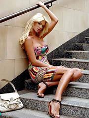 Beauty celebrity Victoria Silvstedt sex..
