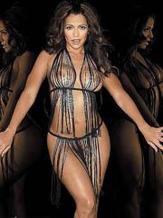Vida Guerra naked shows her hot cuban..