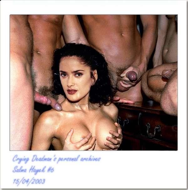 домашнее порно фото сальма хайек с мужем