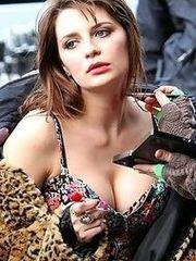 Mischa Barton's nipple slip