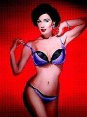Dita Von Teese's lingerie pics