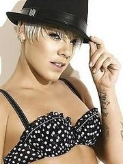 Pink's underclothing pics