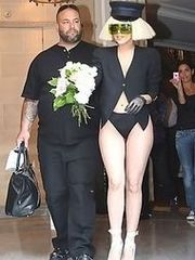 Lady Gaga's hot candids