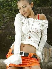 Stunning Asian goddess Bai Ling