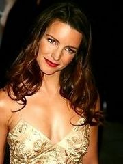 Cute Kristin Davis shows her tits at..