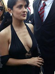 Salma Hayek taking on a hot sensual..