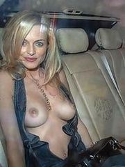Heather Graham loves to pose naked on..