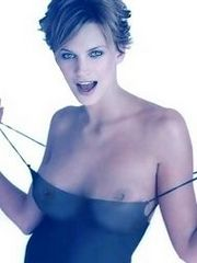 Gorgeous Natasha Henstridge blowing and..