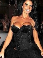 Katie Price showing off her massive..