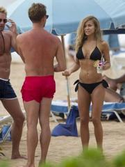 Carmen Electra hot bikini ass shots in..