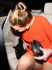 Jennifer Lawrence upskirt moment in..