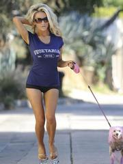 Courtney Stodden not far from another..