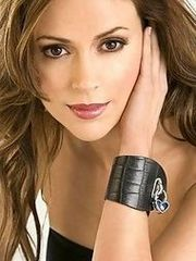 Alyssa Milano looking hot increased by..