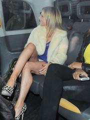 Paparazzi pictures of Geri Halliwell..