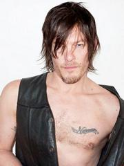 Hot hunk Norman Reedus sexy photoshoot