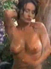 Kelli McCarty Rubs Her Cunt Mid-Shower