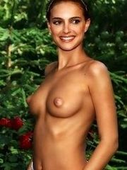 Natalie Portman's sweet pussy and naked..